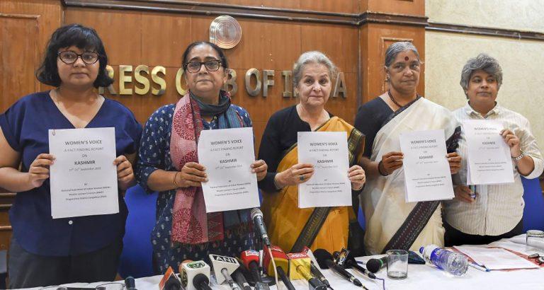 Women's Voice: Fact Finding Report on Kashmir