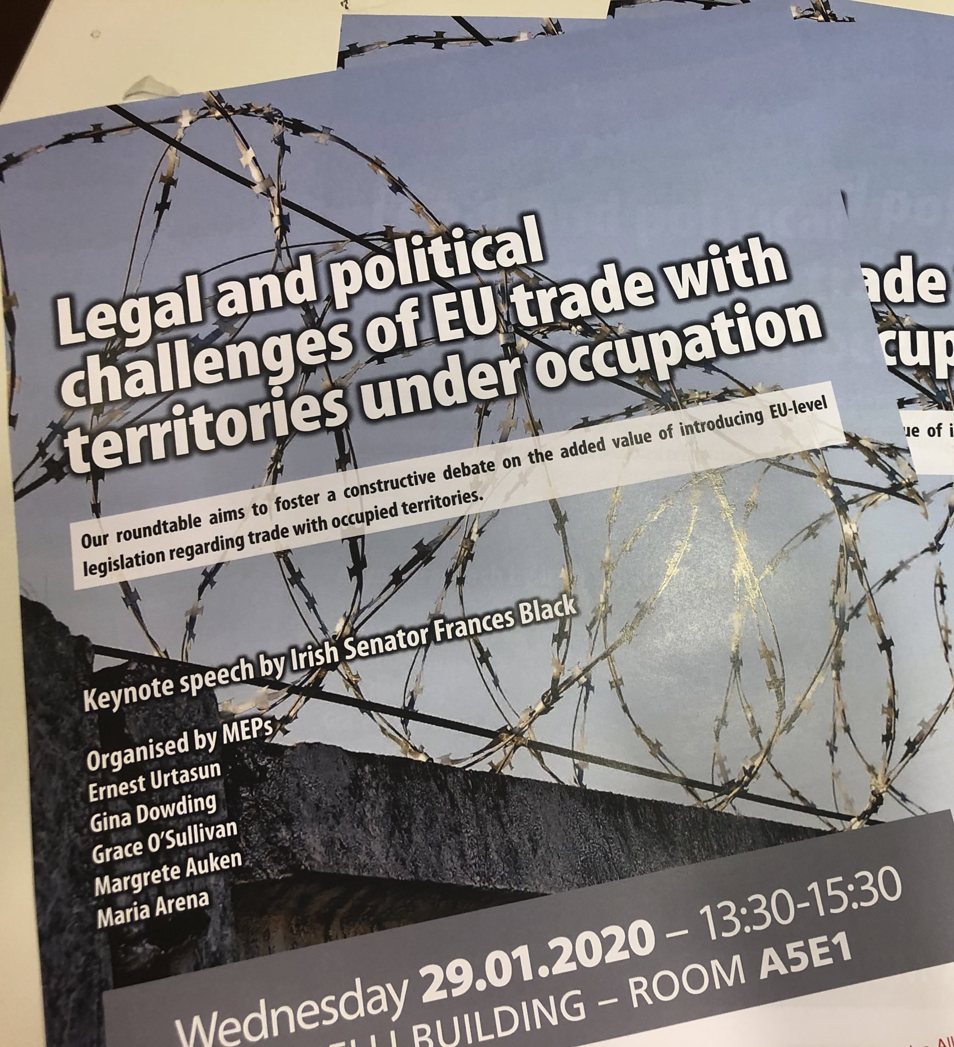 MEPs Urge Commission to End Double Standards on Trade with Occupied Territories